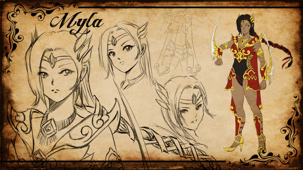 Myla Concept Artwork