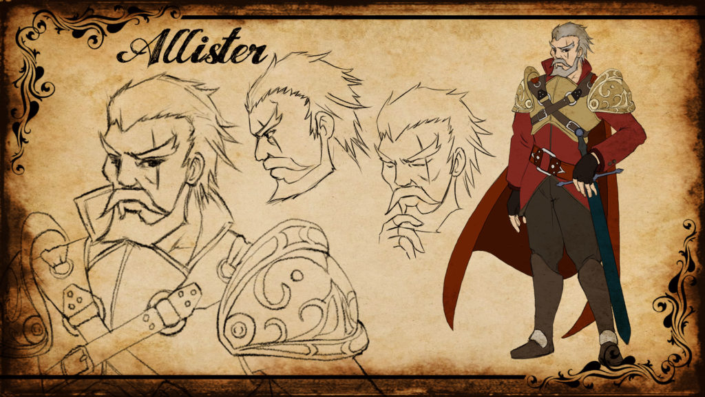 Allister Concept Artwork